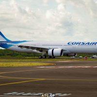 Le second A330-900 de Corsair arrive en Guadeloupe