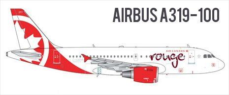 Airbus A310-100 Air Canada Rouge