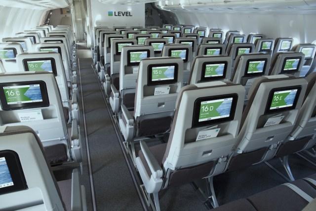 Cabine Economy Airbus A330-200 LEVEL