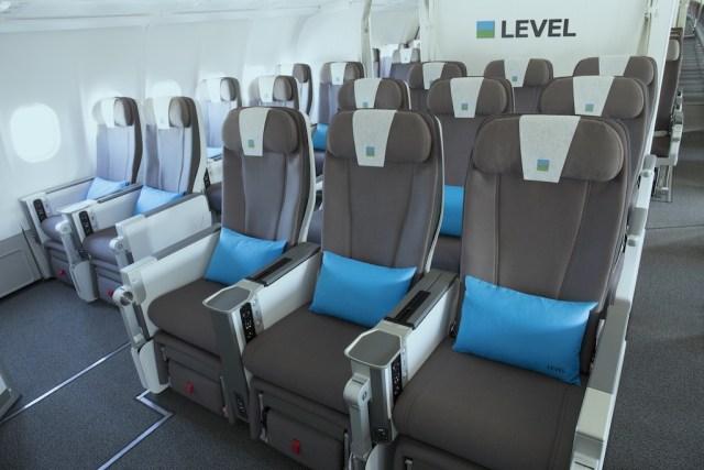 Cabine Premium Economy Airbus A330-200 LEVEL