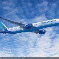 Premier vol commercial en A350-900 pour Air Caraïbes