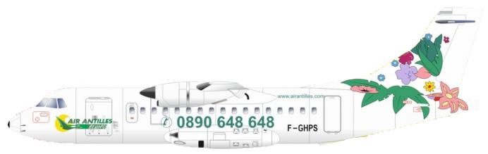 ATR 42-500 Air Antilles