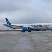 Vol inaugural de l'A50-1000 de Air Caraïbes