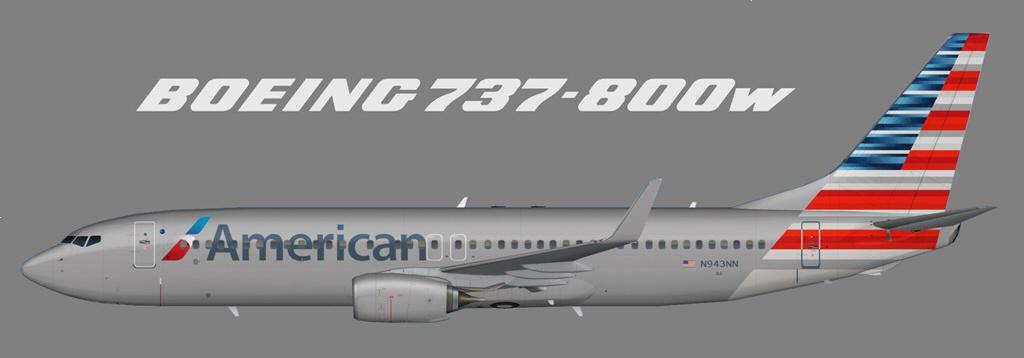 Boeing 737-800 American