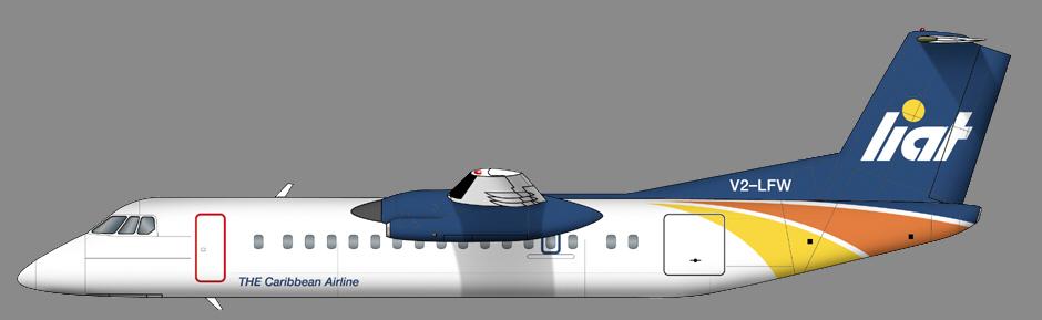 Dash8-300 LIAT