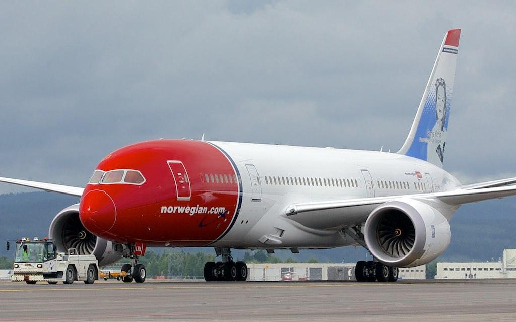 Boeing 787-8 Norwegian